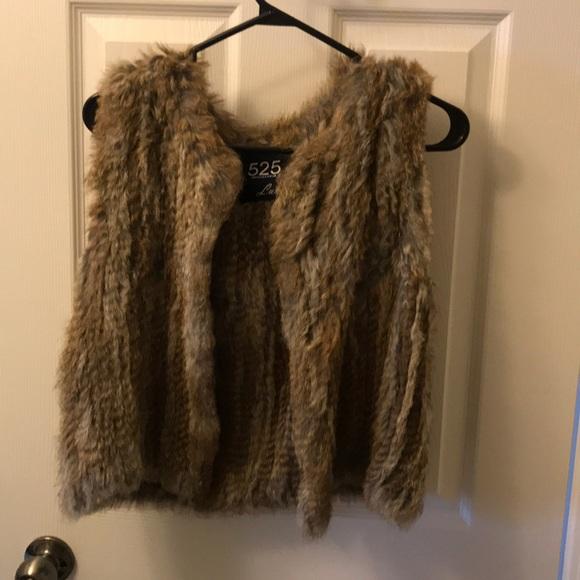Jackets & Blazers - Rabbit Fur Vest